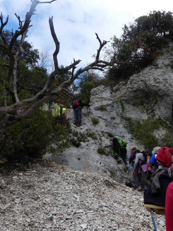 Lubéron-Vallon de l'Arc-Arche du Portalas-Jeudi 9 novembre 2017 UnouD8