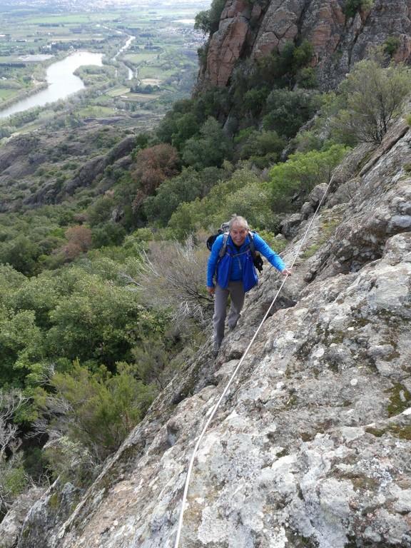 Traversée du Rocher de Roquebrune-Jeudi 29 mars 2018 Cdony5