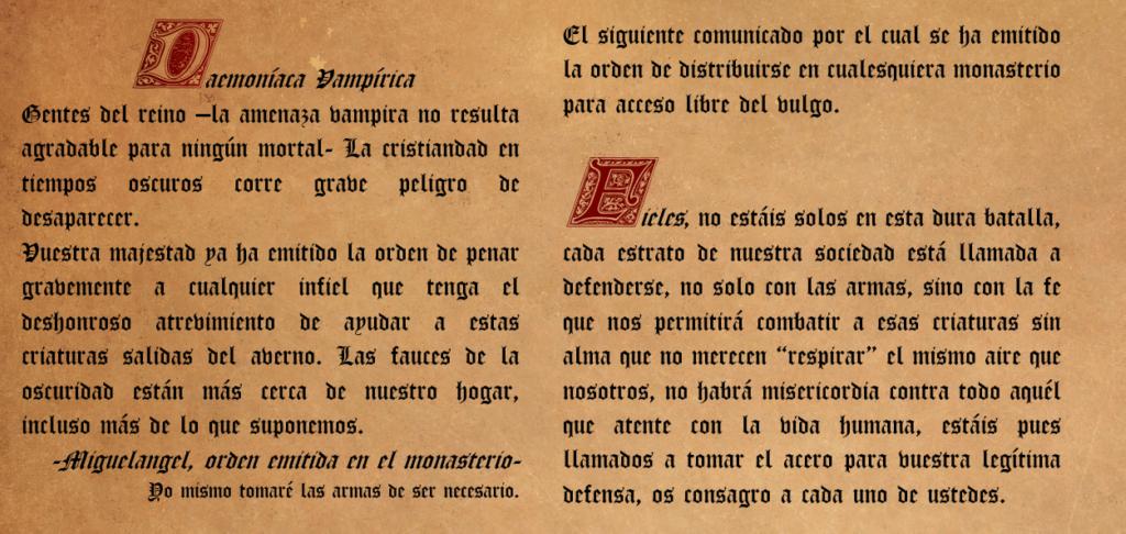 Dæmoniaca Vampiricæ - mensaje del monasterio. F18cpb