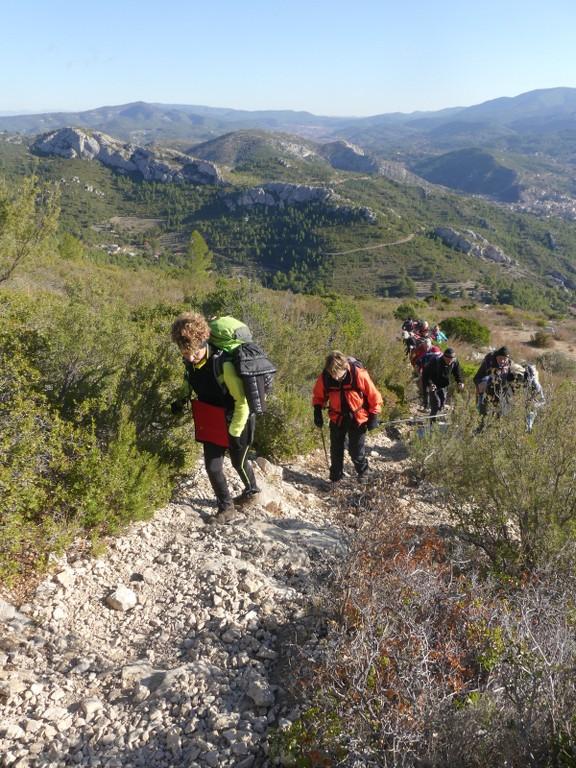 Garlaban-Pichauris-Plateau de l'Aroumi-Jeudi 30 novembe 2017 VDEKys