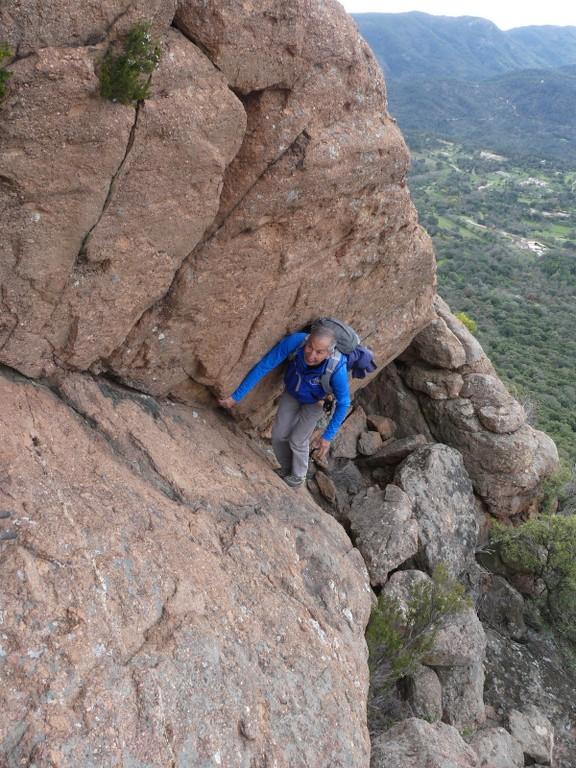Traversée du Rocher de Roquebrune-Jeudi 29 mars 2018 26TGc2
