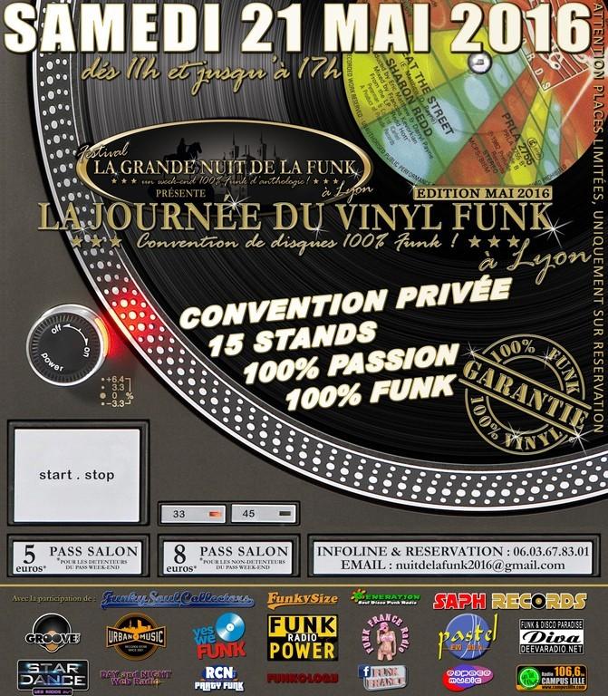 CONVENTION - LA JOURNEE DU VINYL FUNK à LYON | SAMEDI 21 MAI 2016 | 9vFe14