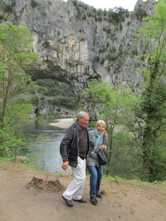 Gorges de l'Ardèche-Grotte Chauvet-Dimanche 17 avril 2016 GaDsur