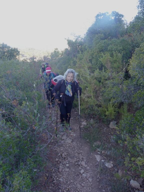 Garlaban-Pichauris-Plateau de l'Aroumi-Jeudi 30 novembe 2017 IE1e63