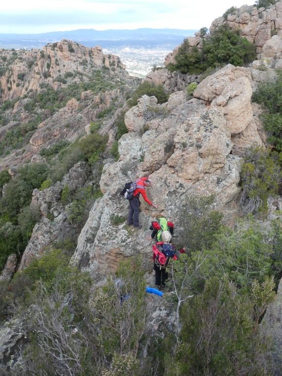 Traversée du Rocher de Roquebrune-Jeudi 29 mars 2018 T7mF08