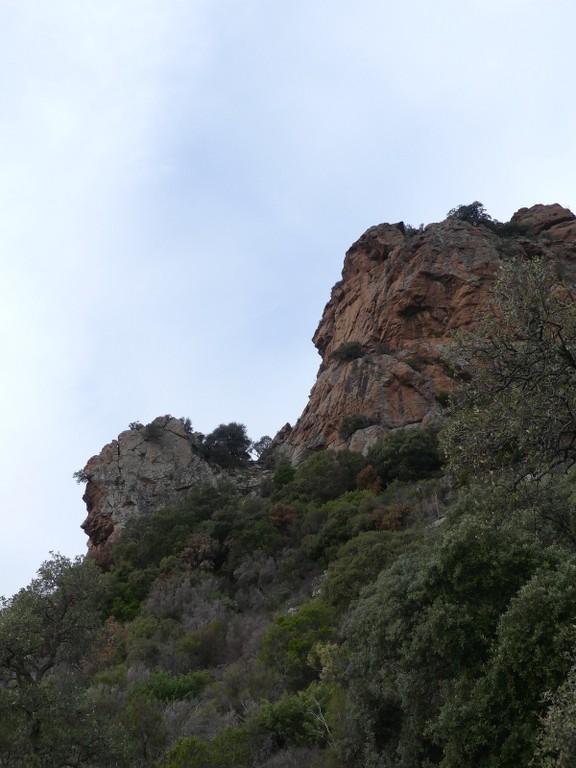 Traversée du Rocher de Roquebrune-Jeudi 29 mars 2018 Egliea