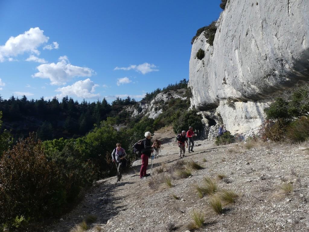 Lubéron-Vallon de l'Arc-Arche du Portalas-Jeudi 9 novembre 2017 FvRkHz