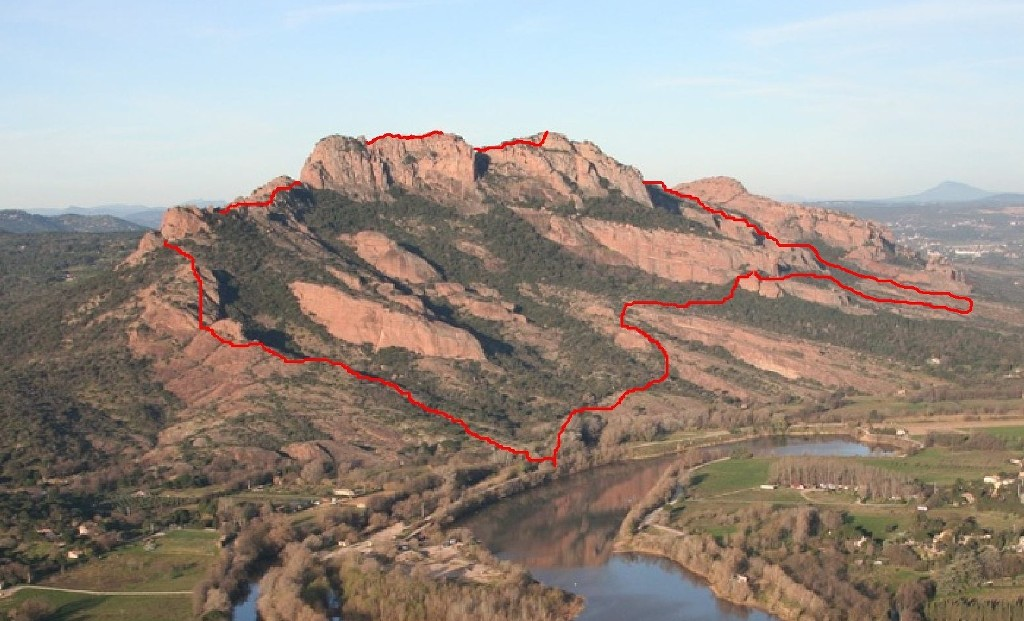 Traversée du Rocher de Roquebrune-Jeudi 29 mars 2018 GNh1hr
