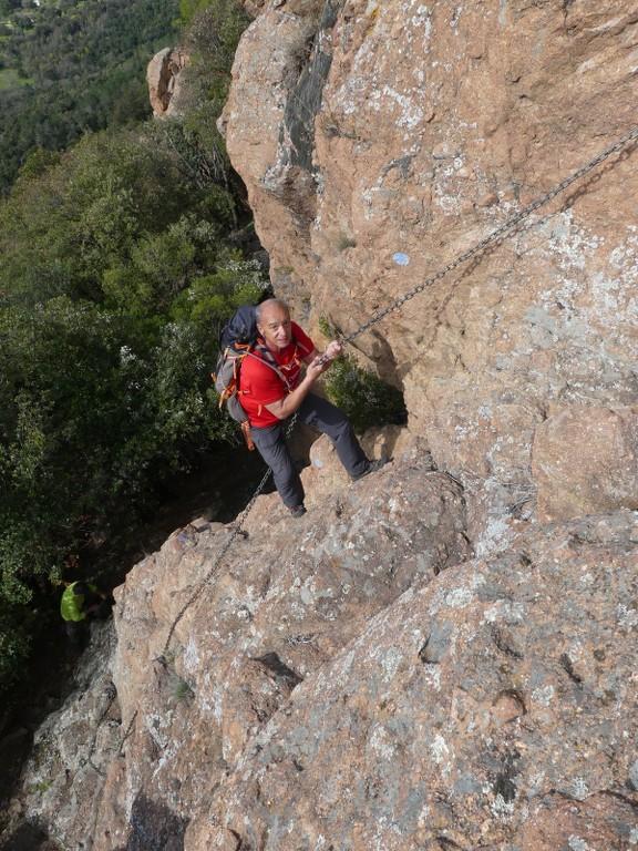 Traversée du Rocher de Roquebrune-Jeudi 29 mars 2018 K5IIDH
