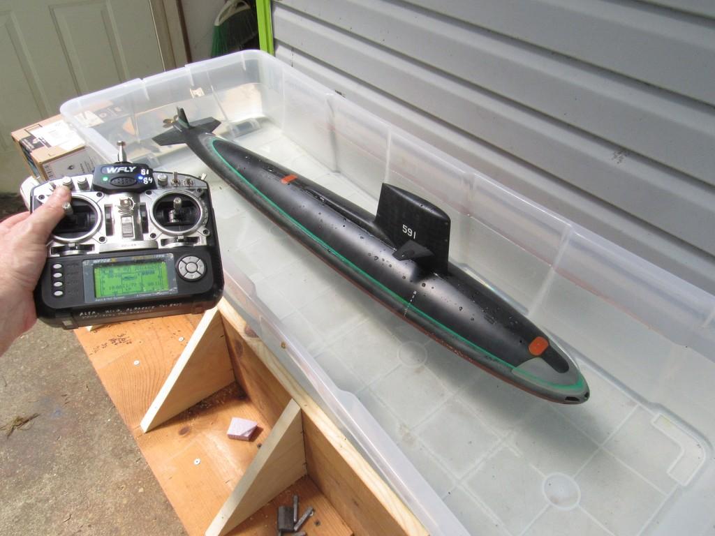 model submarine test tank on the cheap TIXmR3
