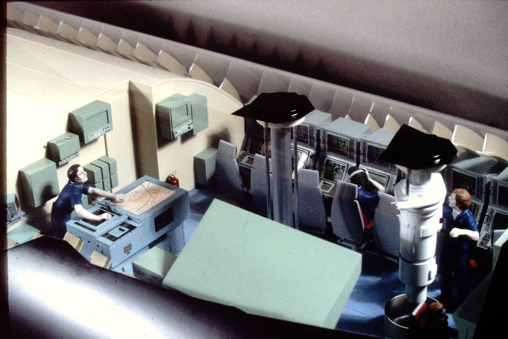 Industrial display of COLLINS control-room BJsDPa
