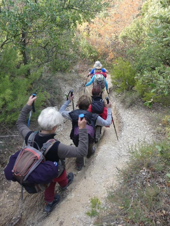 Lubéron-Vallon de l'Arc-Arche du Portalas-Jeudi 9 novembre 2017 MNC9na