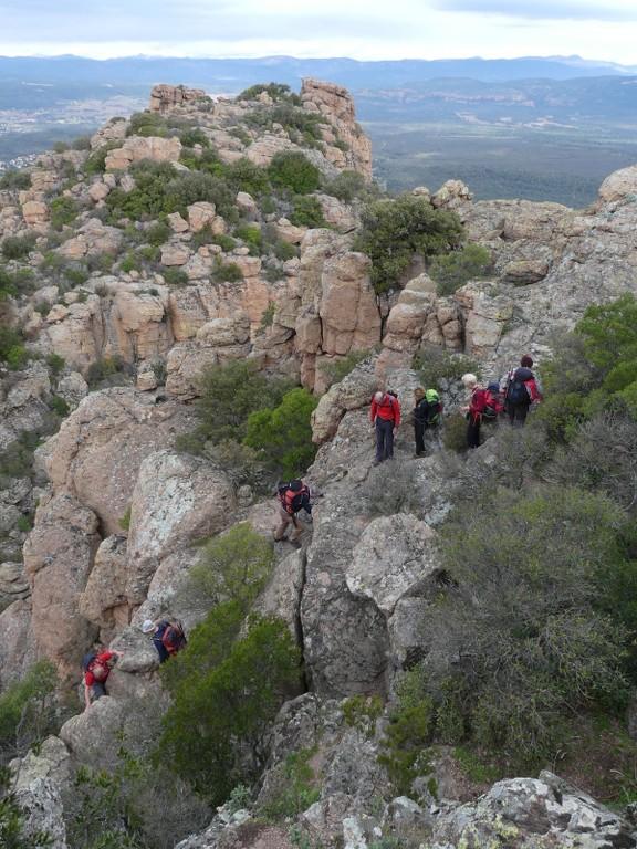 Traversée du Rocher de Roquebrune-Jeudi 29 mars 2018 G9EY4O