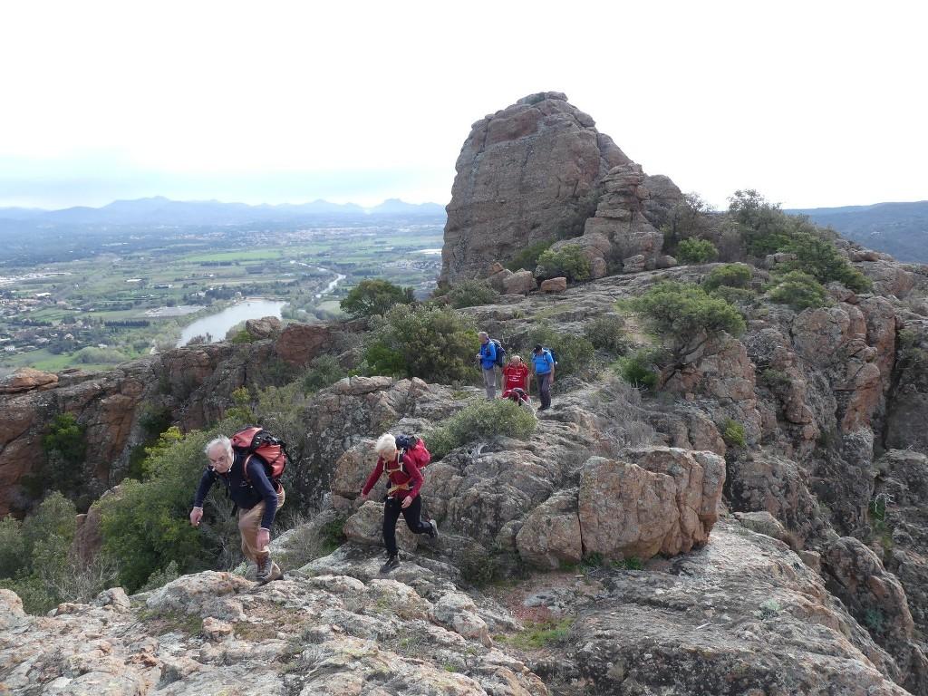 Traversée du Rocher de Roquebrune-Jeudi 29 mars 2018 Pg1ucg