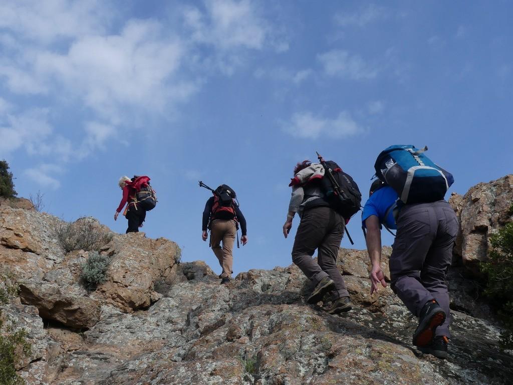 Traversée du Rocher de Roquebrune-Jeudi 29 mars 2018 QM9GeX