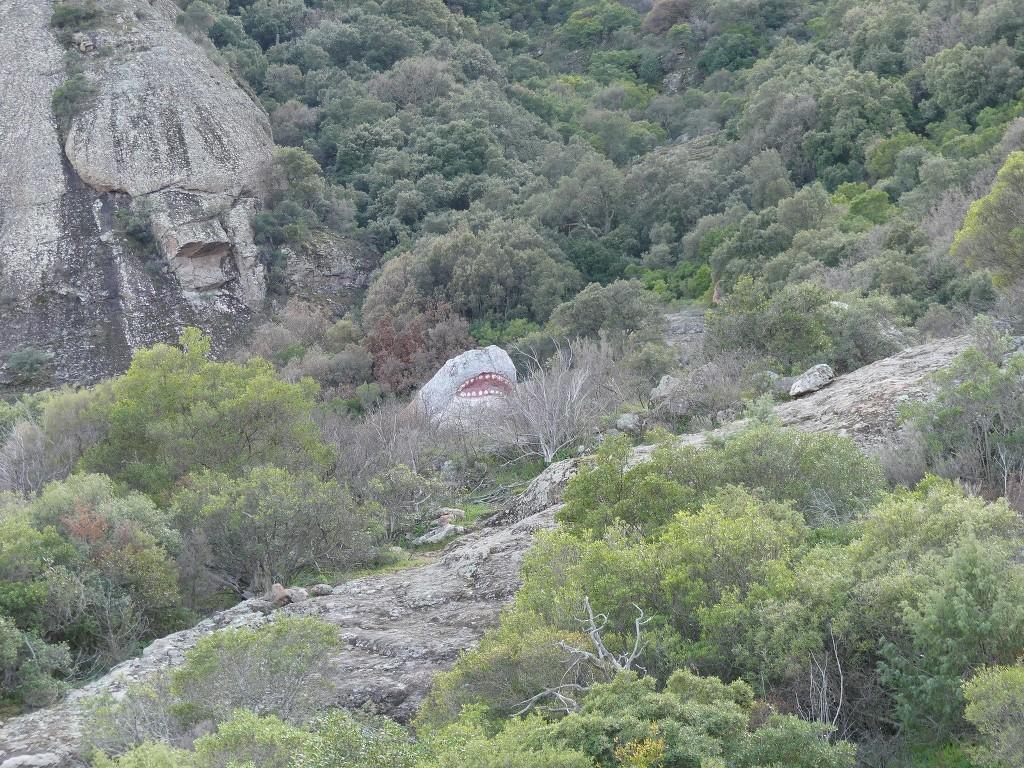 Traversée du Rocher de Roquebrune-Jeudi 29 mars 2018 VUE46S