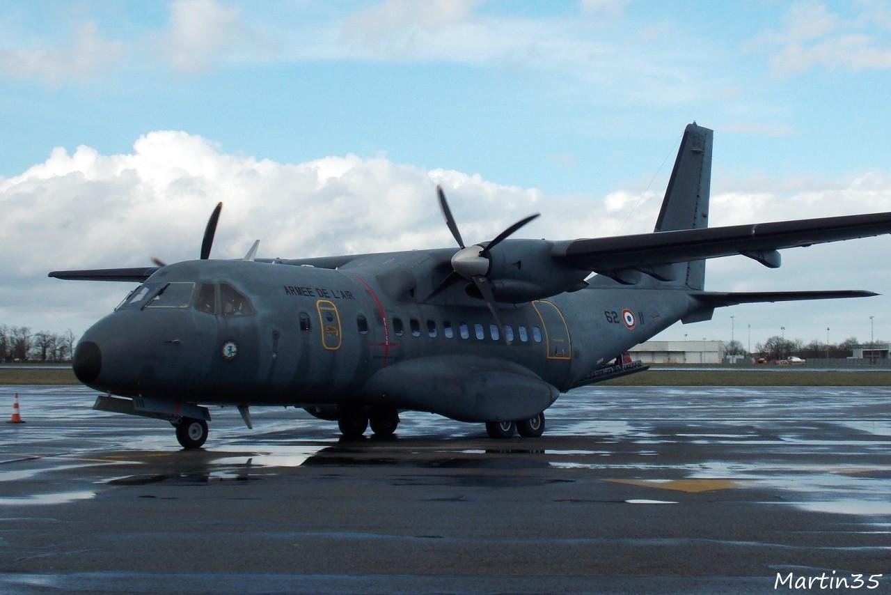 Casa CN-235 Armée de l'Air 62-II + Divers le 25.02.14 8aou