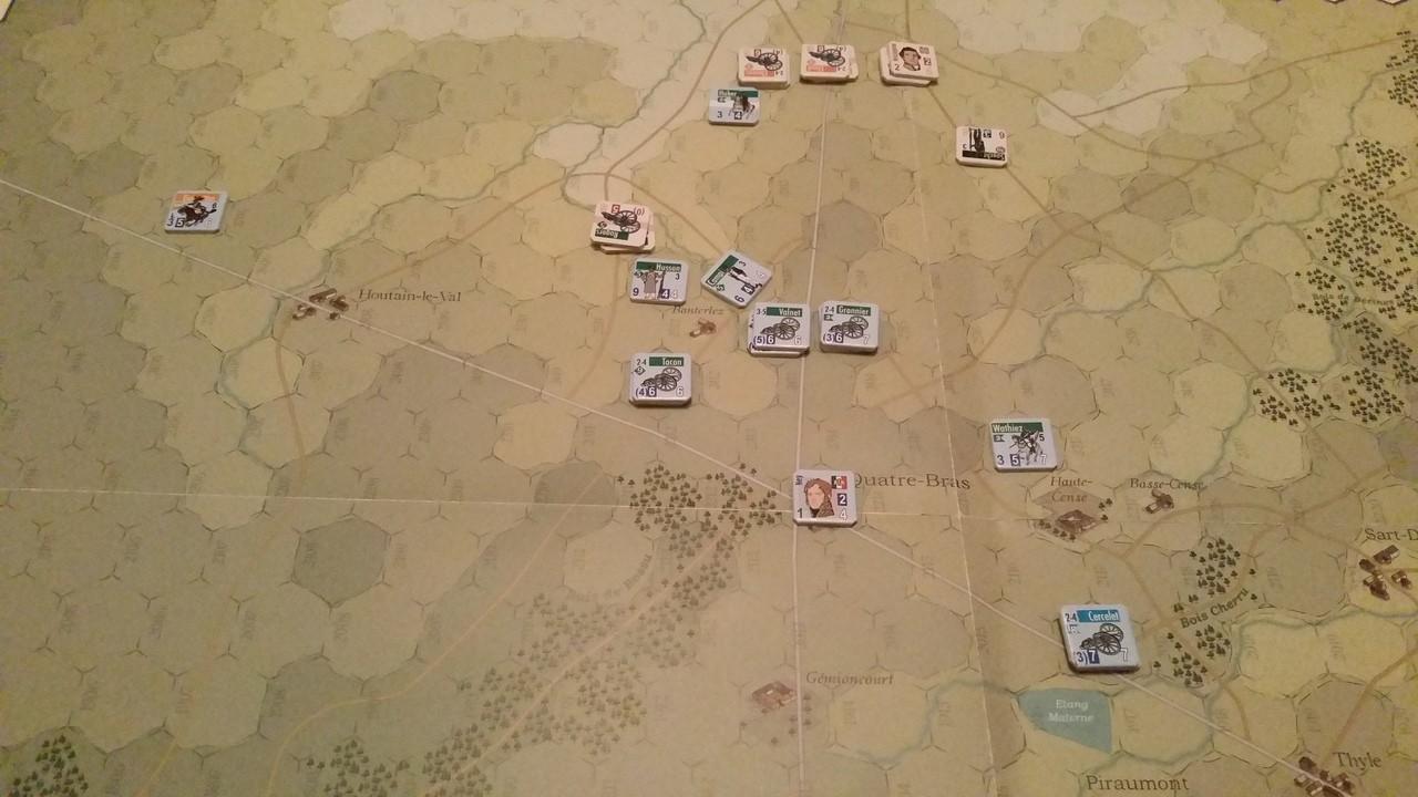 [CR] La bataille des Quatre-Bras (Jours de Gloire) 3R14Bq