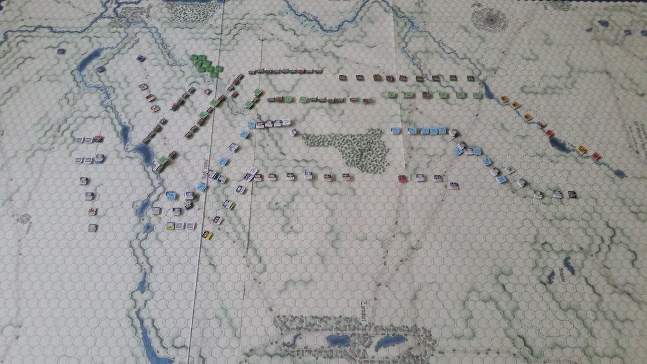 25 août 1758 - la bataille de Zorndorf 20m2PM