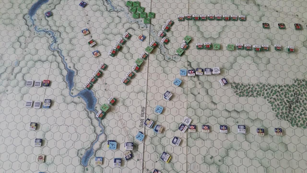 25 août 1758 - la bataille de Zorndorf 9K2KdV