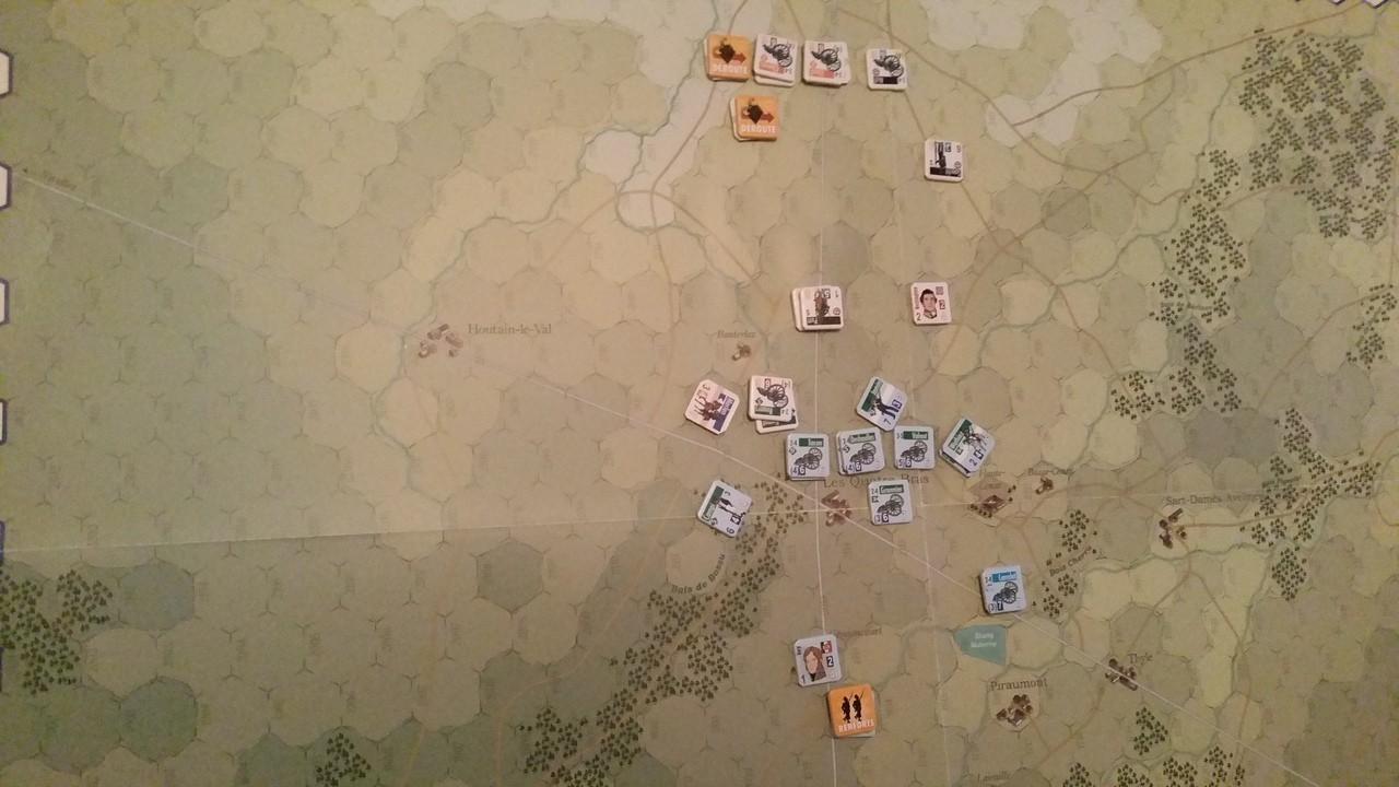 [CR] La bataille des Quatre-Bras (Jours de Gloire) LoCYSy