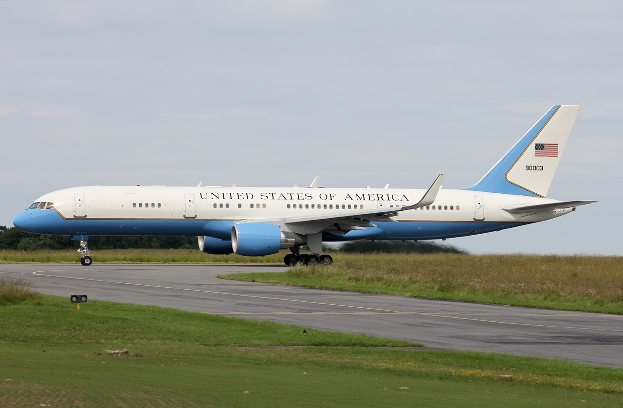 Boeing C-32A (757-200) 99-0003 United States of America le 09/06/2014 Yx84