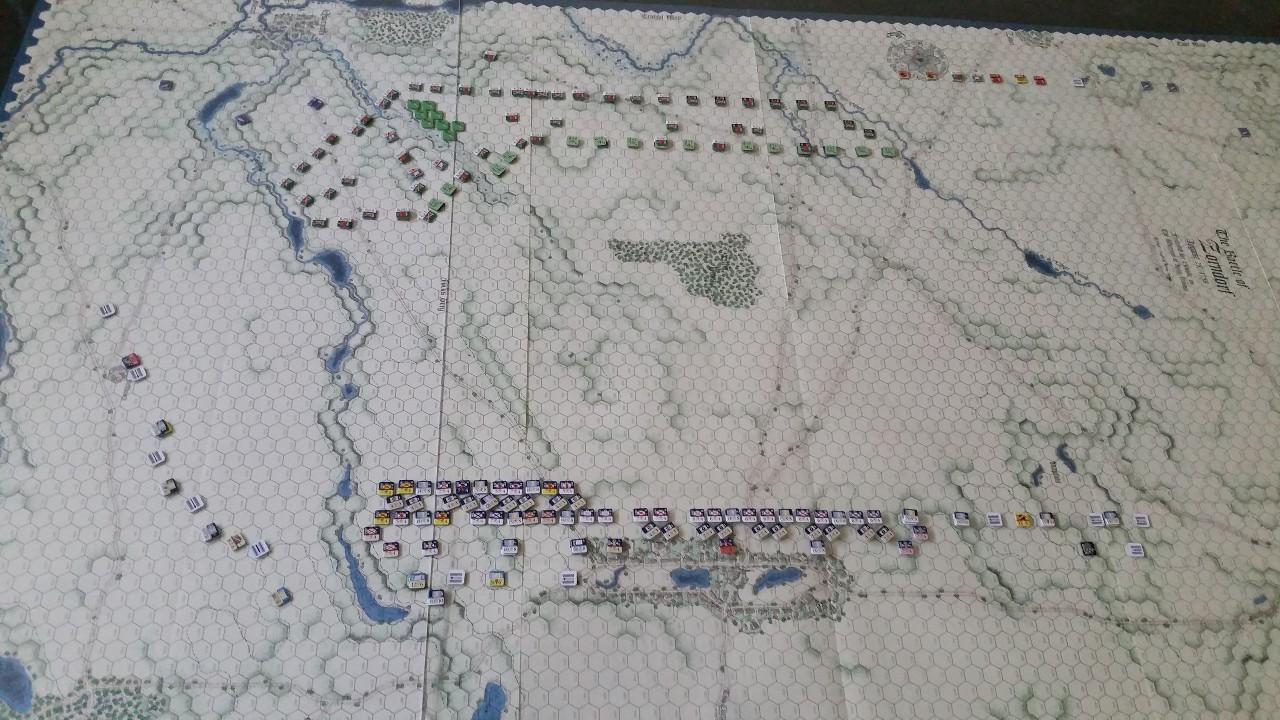 25 août 1758 - la bataille de Zorndorf SPKhrs