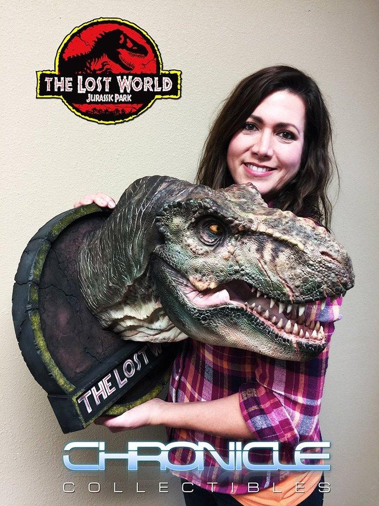 Figurine T-Rex Jurassic Park par Chronicle Collectibles  Wb9ZyO