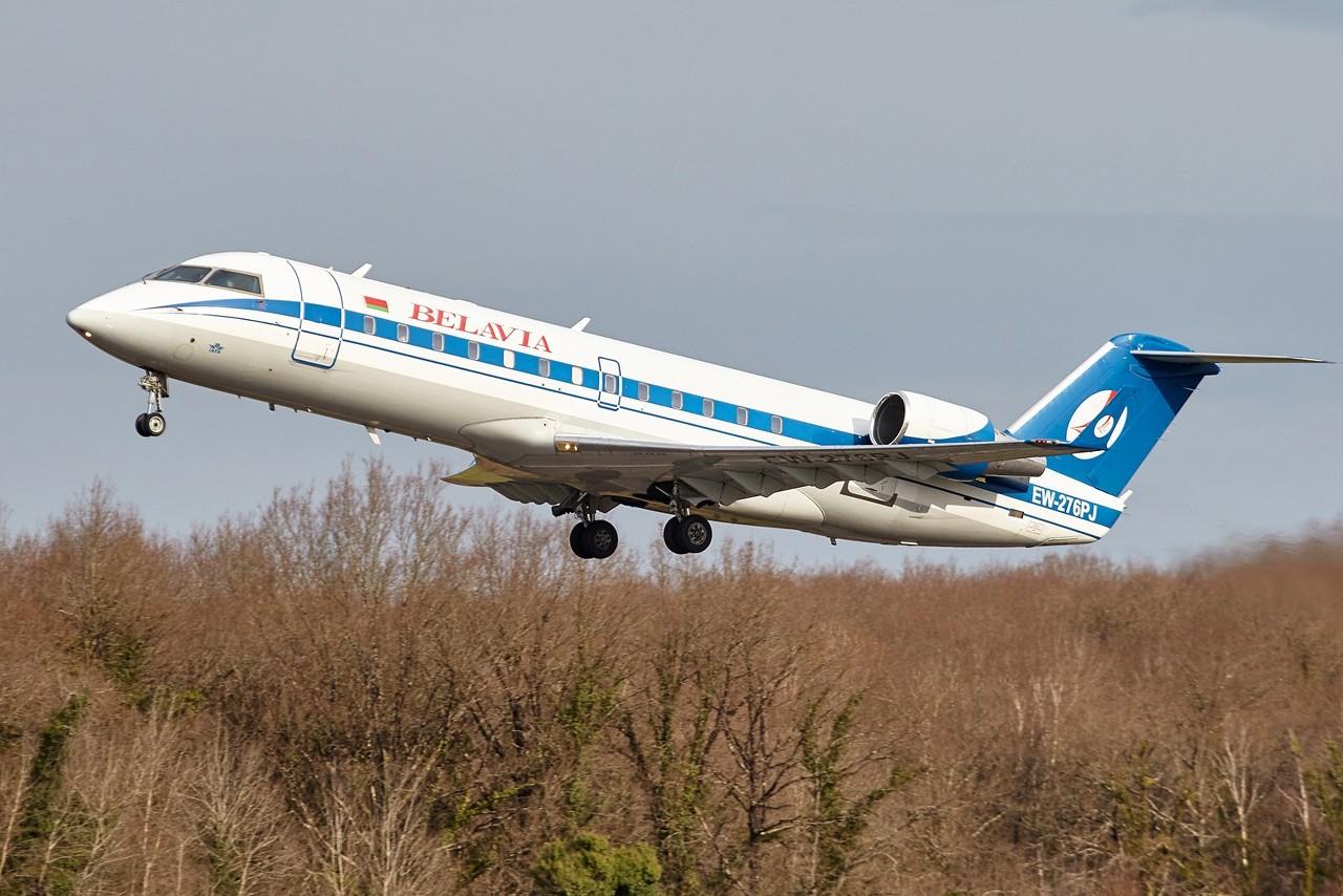 31/03/2018 BRU 8765 Belavia Bombardier CRJ 200 ER 1n6nn2