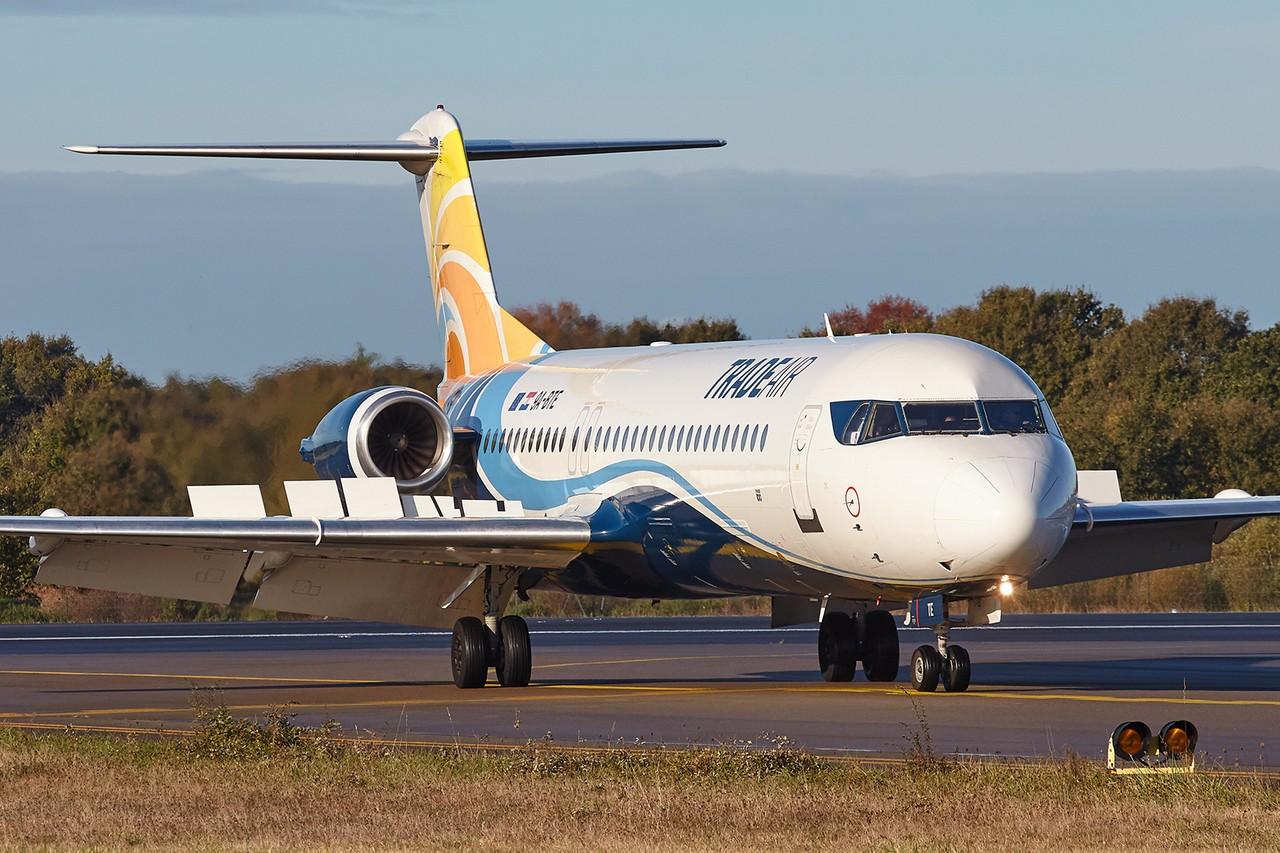 [01/11/2018] Fokker 100 (9A-BTE) Trade Air N154kL