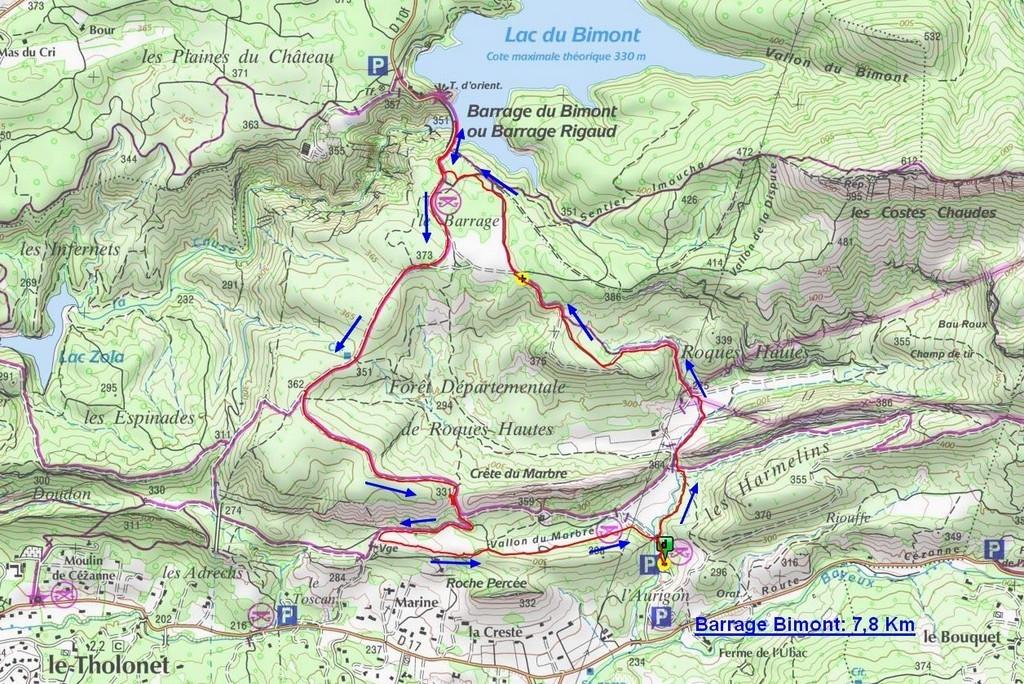 Roques Hautes - Barrage de Bimont -jeudi 10 novembre 2016 DeWFha