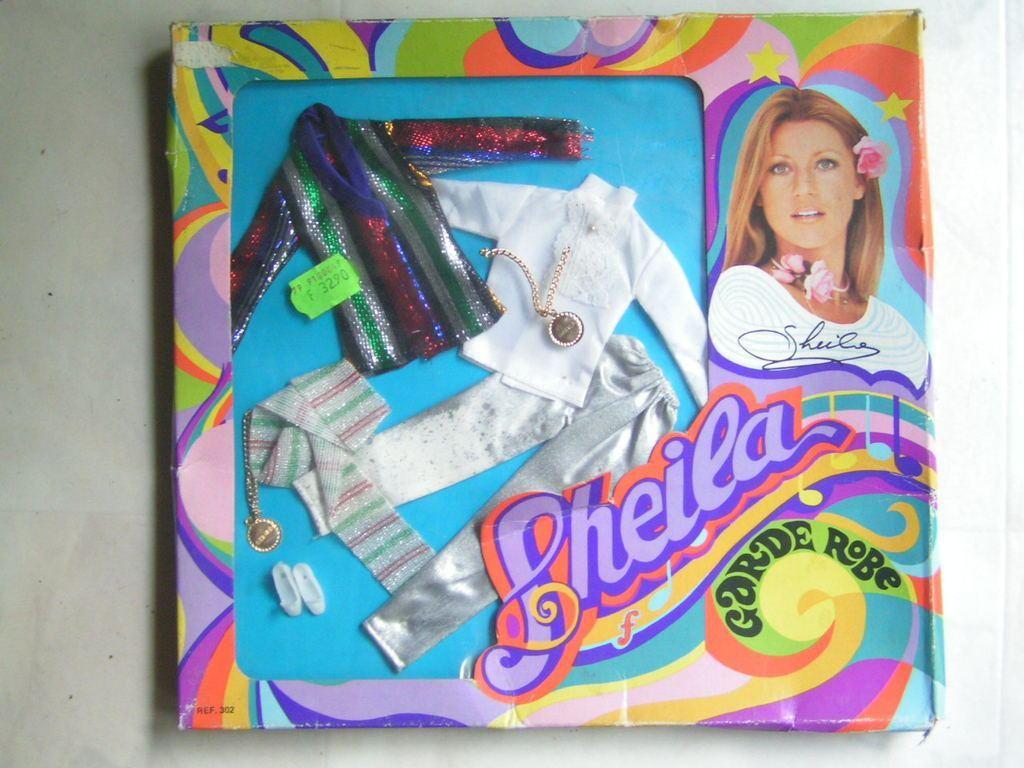 La poupée SHEILA Delavennat 1979 IerT0P