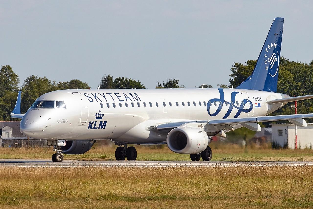 [29/08/2018] Embraer 190 (PH-EZX) KLM Cityhopper Skyteam c/s 1fIVOB