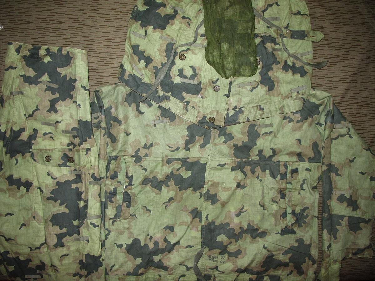 Summer camouflage oversuit with spots - variant 1 - 4 (Letní maskovací oděv se skvrnami - varianta 1 - 4) 4XrIFH