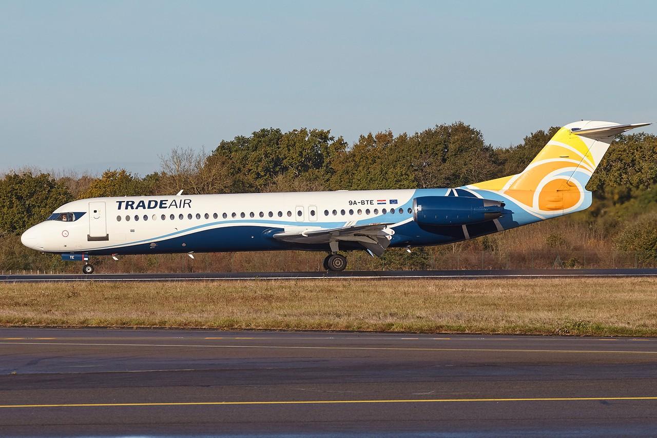 [01/11/2018] Fokker 100 (9A-BTE) Trade Air 5SrLHi