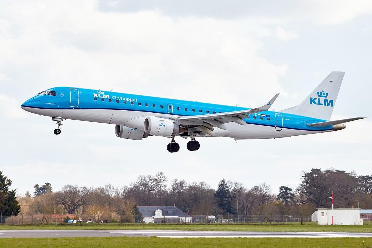 [25/03/2018] ERJ190 (PH-EZM) KLM  HT9o5l