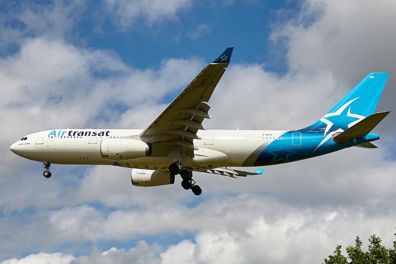 """[08/08/2017] Airbus A330-200 (C-GITS) Air Transat aka """"Planeur des Açores"""" UpmZC6"""