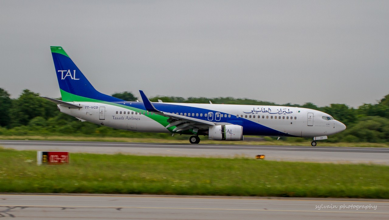 [03/06/2016] Boeing 737-800 (7T-VCD) Tassili Airlines DZg4f2