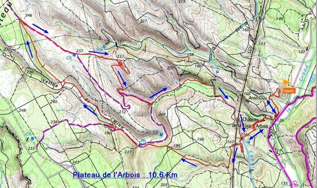 La Mérindole - Plateau de L'Arbois - Jeudi 8 Février 2018 DsdVEs