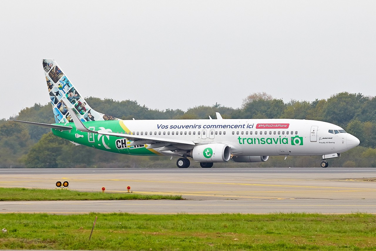 [15/05/2017] B737-800 Transavia (F-GZHO) Cheerz Livery AHlVCf