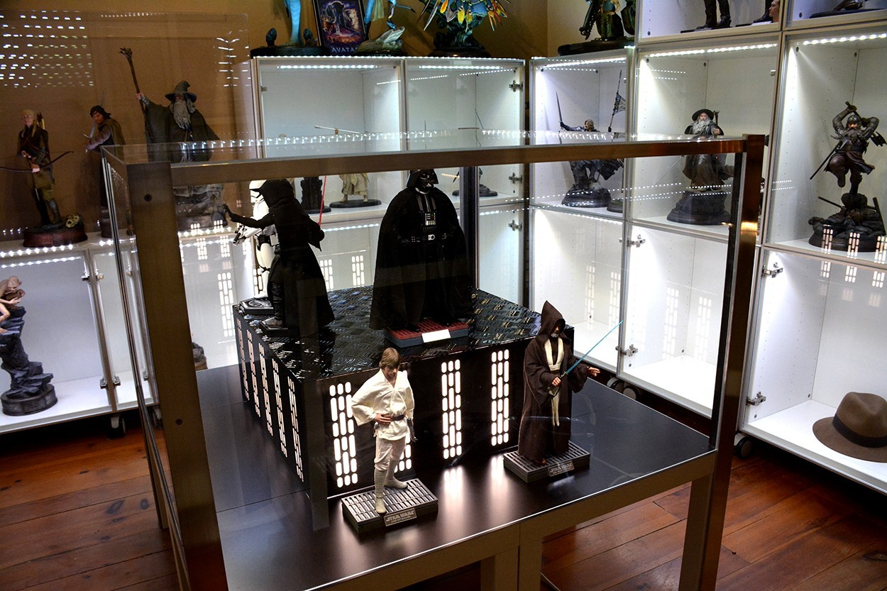 Star Wars Acrylic Display Case  HfEEsD