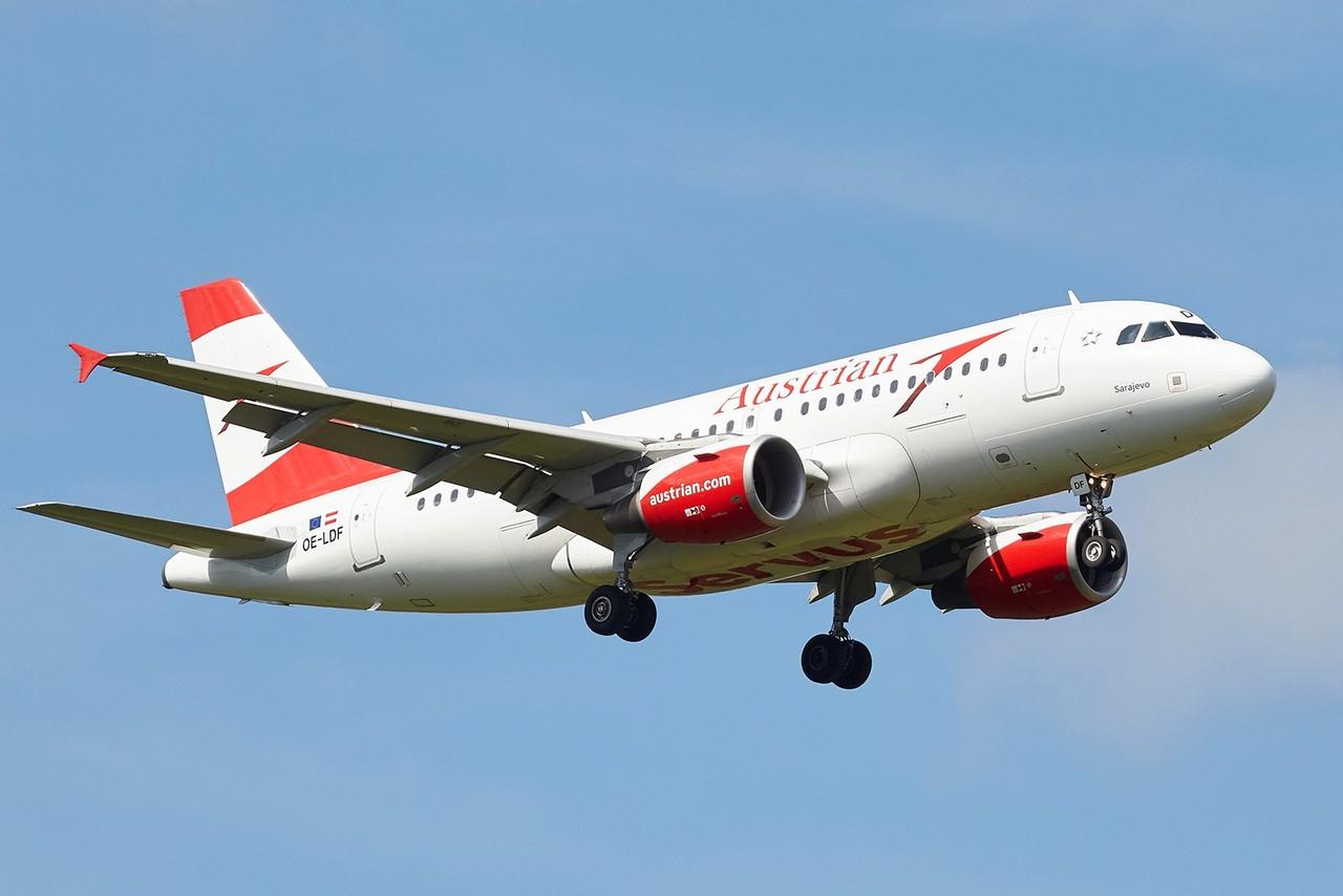 [09/05/2018] Airbus A319 (OE-LDF] Austrian  KJO1Kf