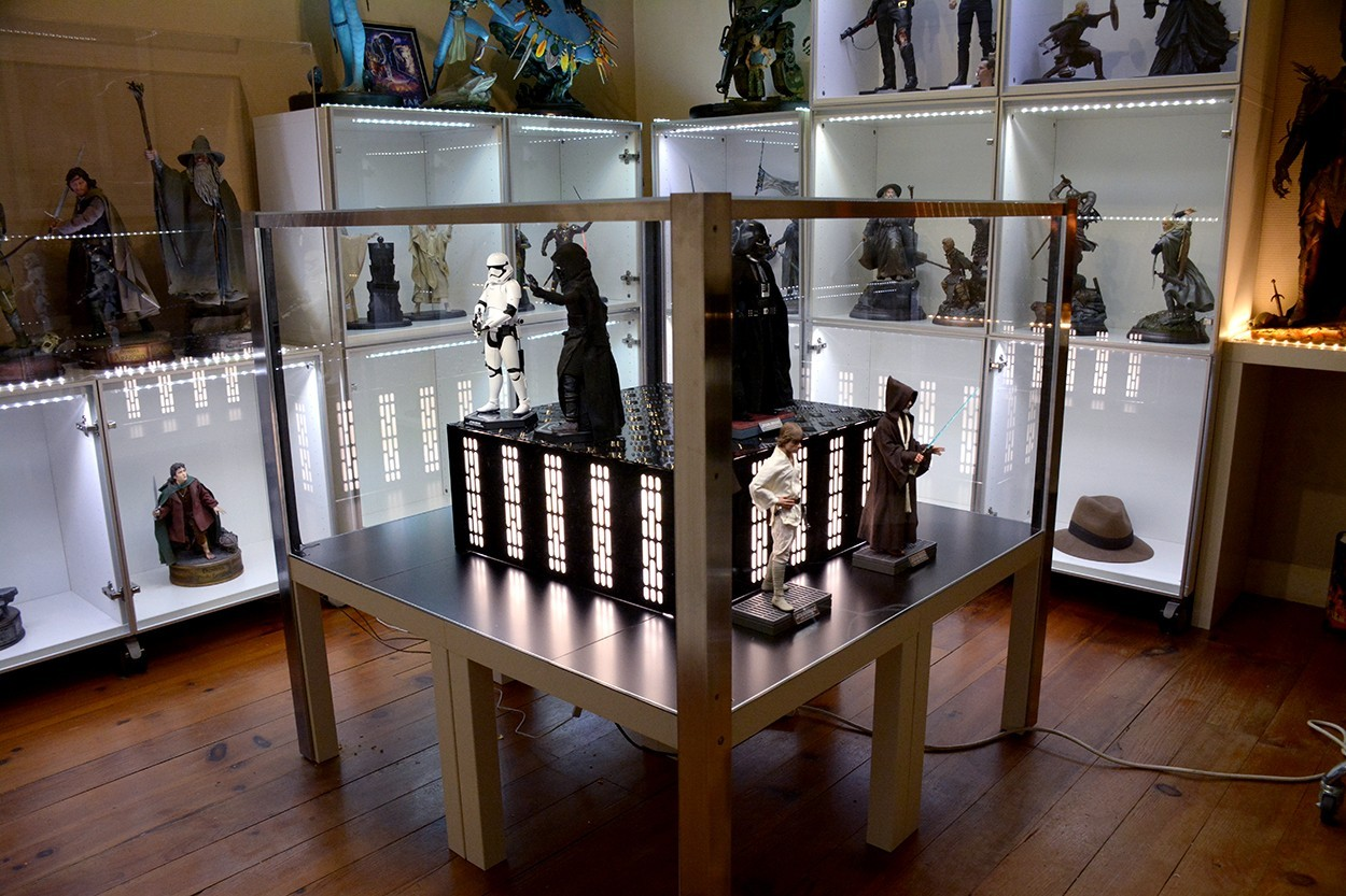 Star Wars Acrylic Display Case  LCfpYN