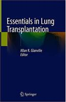 Essentials in Lung Transplantation 1st ed. 2019 Edition Owj8F1