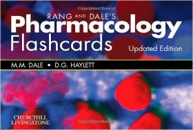 Rang & Dale's Pharmacology Flash Cards Updated Edition 7Lp7zc