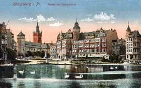 Königsberg, belle ville ancienne YcSKba