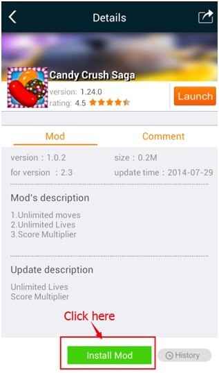 The mod for Candy Crush Saga for iOS/android 5YpZLN