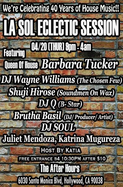 4.20 LA Sol Eclectic Session IZEhmH
