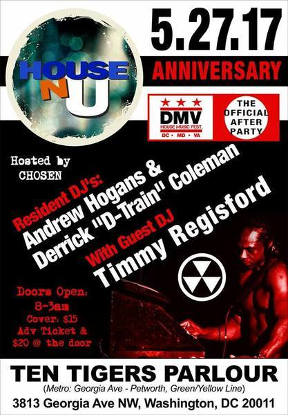 5.27 DMV House Music Fest AFTERPARTY GCwJ0N