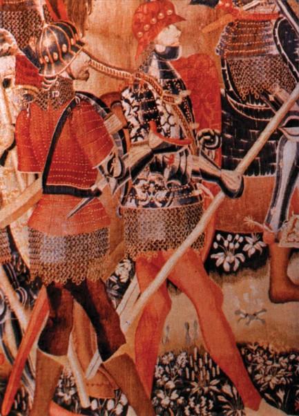 Los tapices de Pastrana. Siglo XV  Pastranaa